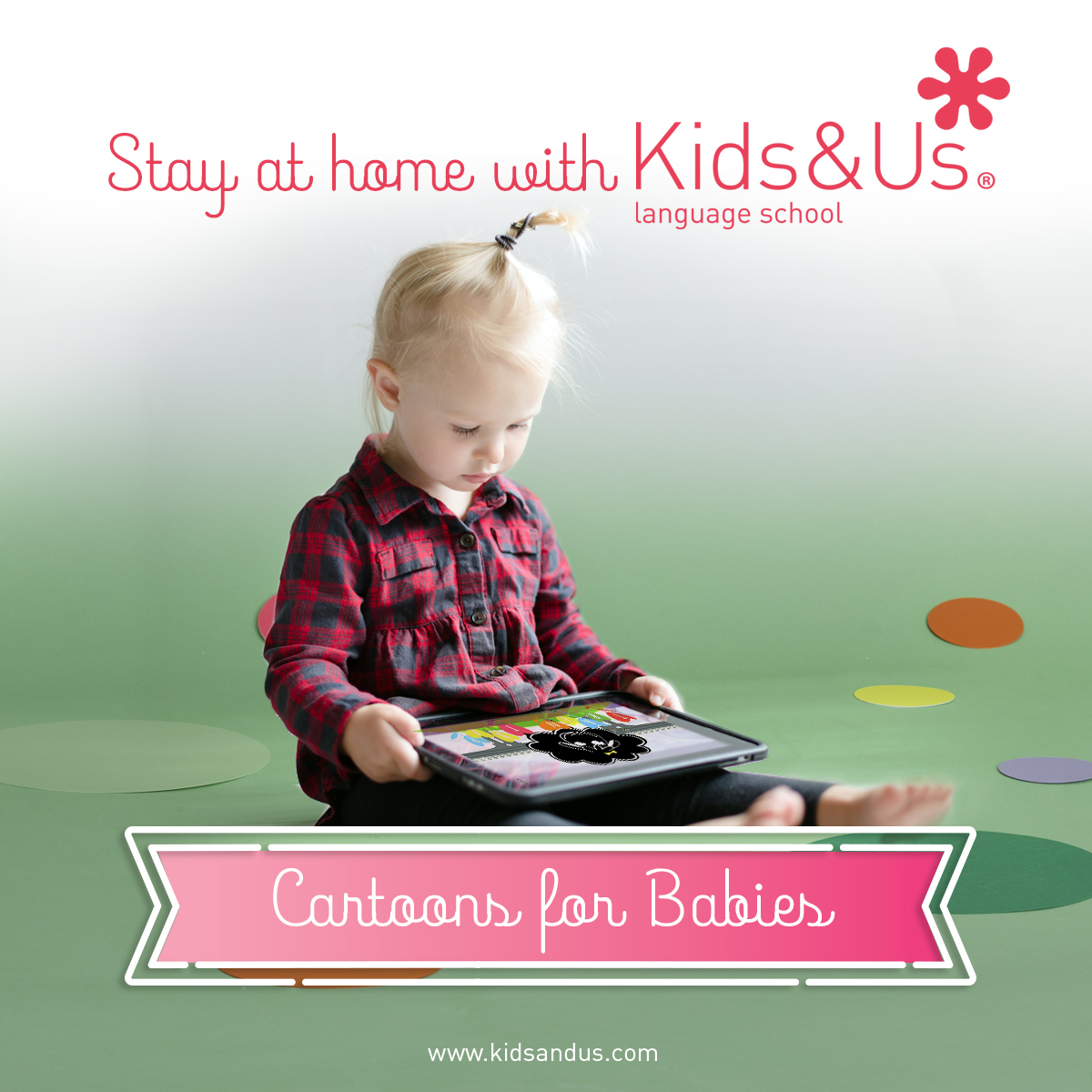 #STAYATHOME WITH KIDS&US FOR BABIES!
