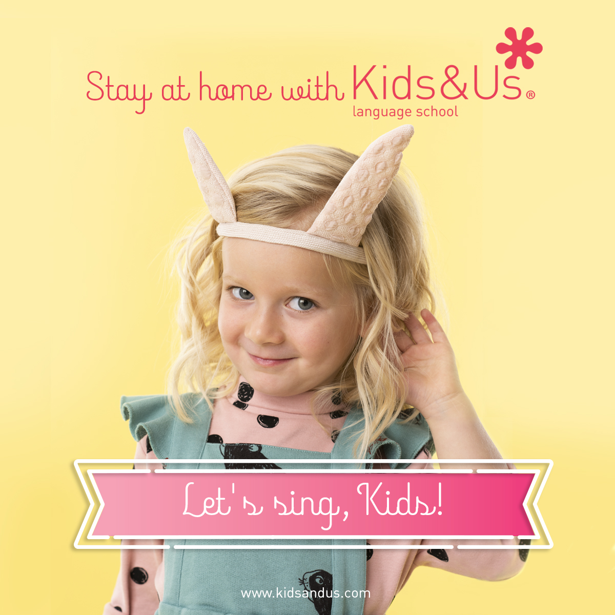 #STAYATHOME WITH KIDS&US FOR KIDS!