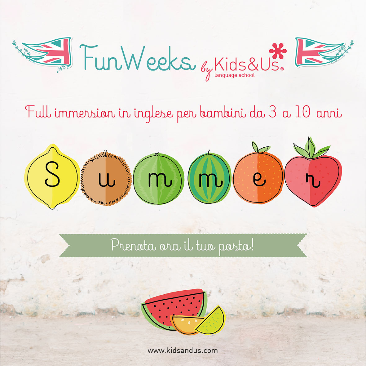 Tornano le Summer Fun Weeks di Kids&Us!